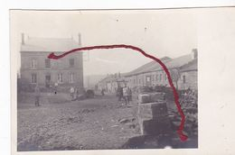 ( 08 ) - Saint Marcel Strasse Carte Photo Allemande 1° Guerre - Autres Communes