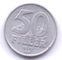 MAGYAR 1979: 50 Filler, KM 574 - Hungría