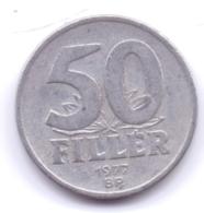 MAGYAR 1977: 50 Filler, KM 574 - Hungría