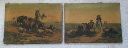 2 -  Tableaux - Peinture  33x47 - Acuarelas
