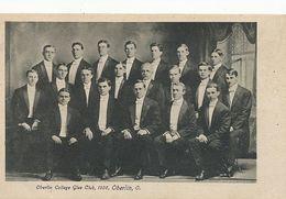 Oberlin College Glee Club , 1906, Oberlin , O.  Undivided Back - Etats-Unis