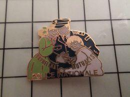 316a Pin's Pins / Rare & Belle Qualité !!! THEME : POLICE / OMPN ORPHELINAT MUTUALISTE POLICIER DE PROXIMITE - Police