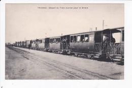 TRIGNAC - DEPART DU TRAIN OUVRIER POUR LA BRIERE - 44 - Otros Municipios