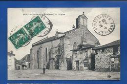 SAINT-VICTURNIEN   L'Eglise      Animées      écrite En 1915 - France
