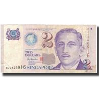 Billet, Singapour, 2 Dollars, KM:46, TB - Singapour