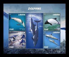 Liberia 2020 Mih. 7661/64 Fauna. Dolphins MNH ** - Liberia