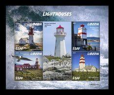 Liberia 2020 Mih. 7673/76 Lighthouses MNH ** - Liberia