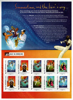 France, 2013, Collector - Jazz In Marciac, Sheet 10 V, MNH - Collectors