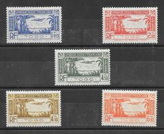 Togo PA N°1 à 5 1939 ** - Nuevos