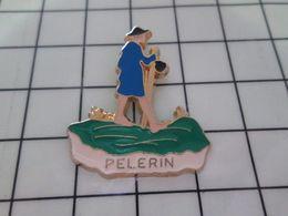 316a Pin's Pins / Rare & Belle Qualité !!! THEME : AUTRES / PELERIN DU MATIN , CHAGRIN !!!! - Pin's