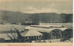 D.W.I. Danish West Indies Floating Dock St Thomas Edit Lightbourn's - Vierges (Iles), Amér.