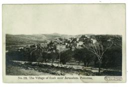 Ref 1379 - Early Postcard - The Village Of Enab Near Jerusalem Palestine - Israel - Holy Land - Palestine