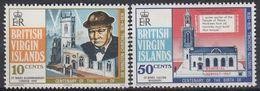 BRITISH VIRGIN ISLANDS 278-279,unused - British Virgin Islands