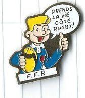 Rugby : FFR Fédération Francaise De Rugby Arbitre Prends La Vie Coté Rugby - Rugby