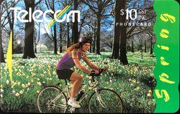 NOUVELLE-ZELANDE  -  Phonecard  - Spring  -  $ 10 - New Zealand