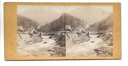 SUISSE SCHANFIGG PHOTO STEREO CIRCA 1860 /FREE SHIPPING R - Fotos Estereoscópicas