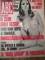 - RIVISTA ABC N 3 / 1972 CLAUDIO VILLA - Livres, BD, Revues