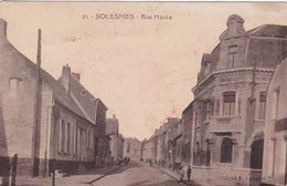 59 / SOLESMES / RUE HAUTE - Solesmes
