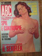 - RIVISTA ABC N 50 / 1972 PUBBLICITA AGIP RAFFAELLA CARRA' - Livres, BD, Revues