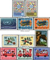 UNO - New York Postfrisch Sondermarken 1966 Gesundheit, Kaffee U.a. - Neufs