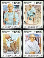 SIERRA LEONE 2020 - Salt March, M. Gandhi, 4v. Official Issue [SRL200220c] - Mahatma Gandhi
