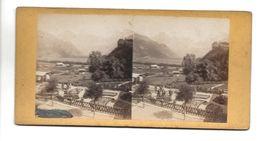 SUISSE LENK ? PHOTO STEREO CIRCA 1860 /FREE SHIPPING R - Fotos Estereoscópicas