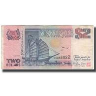 Billet, Singapour, 2 Dollars, KM:37, B - Singapour