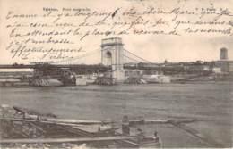 26 - Valence - Pont Suspendu (construction Du Pont) (1903) - Valence