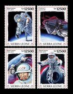 Sierra Leone 2020 Mih. 11793/96 Space. First Spacewalk. Alexei Leonov MNH ** - Sierra Leone (1961-...)