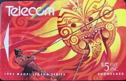 NOUVELLE-ZELANDE  -  Phonecard  - Maui  -  $ 10 - New Zealand