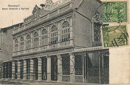 Guayaquil Banco Comercial Y Agricola Bank Banque . P. Used To Santa Clara Cuba - Ecuador