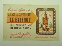 BUVARD CAFE ET PRODUITS LE BEFFROI DELORAINE BETHUNE ARRAS - Café & Thé