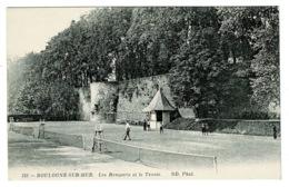 Ref 1381 - Early Postcard - Playing Tennis - Boulogne-Sur-Mer France - Sport Theme - Boulogne Sur Mer