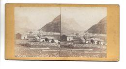 SUISSE POSCHIAVO PHOTO STEREO CIRCA 1860 /FREE SHIPPING R - Fotos Estereoscópicas