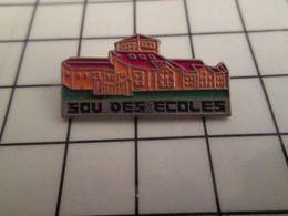 316a Pin's Pins / Rare & Belle Qualité !!! THEME : AUTRES / LE SOU DES ECOLES - Pin's