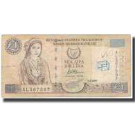 Billet, Chypre, 1 Pound, 2001-02-01, KM:60c, AB - Cyprus
