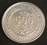 TURKMENISTAN - 500 MANAT 1999 - KM 12 - Président Saparmyrat Nyýazow - Turkménistan