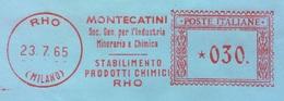 CHIMICA - AFFRANCATURA ROSSA  - MONTECATINI SOC. MINERARIA E CHIMICA - STABILIMENTO PRODOTTI CHIMICI - RHO - 6. 1946-.. Repubblica