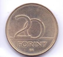 MAGYAR 2015: 20 Forint, KM 849 - Hungría