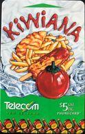 NOUVELLE-ZELANDE  -  Phonecard  - KIWIANA  -  $ 5 - New Zealand