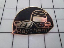 316b Pin's Pins / Rare & Belle Qualité !!! THEME : MARQUES / RAYCHEM  F1 FORMULE 1 - Marques