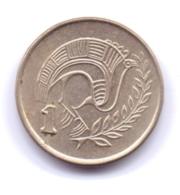 CYPRUS 1992: 1 Cent, KM 53.3 - Chipre