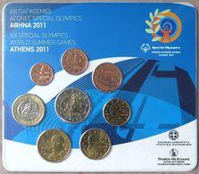 GRX2011.1 - SERIE BU EUROS GRECE - 2011 - 1 Cent à 2 Euros - Greece