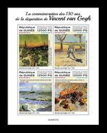 Guinea 2020 Mih. 14362/65 Paintings Of Vincent Van Gogh MNH ** - Guinea (1958-...)