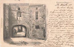 52 Nogent En Bassigny Cachet 1900 Porte De L' Ancien Chateau - Nogent-en-Bassigny