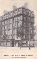75 - PARIS 10 ème - GRAND HOTEL De LONDRES Et D'ANVERS : 133 Boulevard Magenta - CPA - Seine - Pubs, Hotels, Restaurants