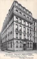 75 - PARIS 9 ème - HOTEL ROYAL SAINT GEORGES - 18 Rue St Georges ( Quartier OPERA ) Prop. Hubert VAN EYKEN - CPA - Sein - Pubs, Hotels, Restaurants