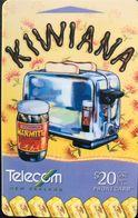 NOUVELLE-ZELANDE  -  Phonecard  - KIWIANA  -  $ 20 - New Zealand