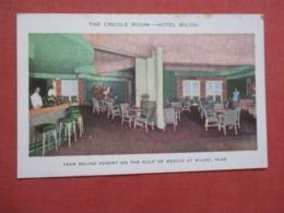 Creole Room  Hotel Biloxi   Biloxi Mississippi >  >> Ref 4194 - Autres