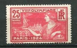 18598 FRANCE N°184(*) 25c. Jeux Olympiques De Paris  1924   TB - Unused Stamps